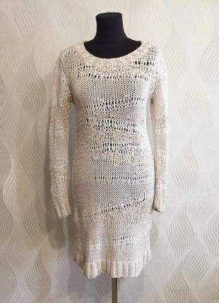 Вязаное платье allsaints