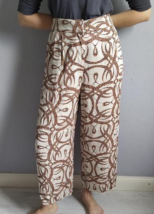 Винтажные кюлоты, брюки от richard allan5 фото