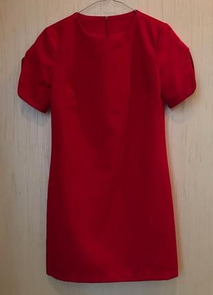 """Красное платье xs """"dioni"""""""