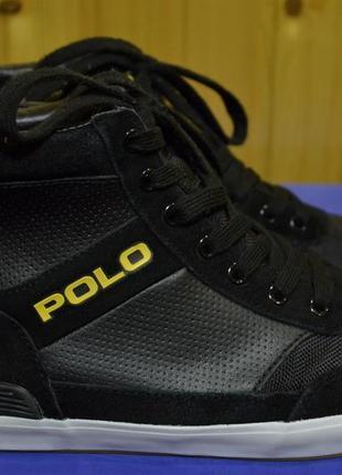 Мужские кроссовки polo ralph lauren nikolas high