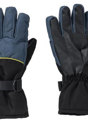 Водонепроницаемые лыжные термо перчатки thinsulate crivit