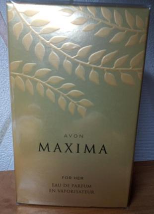 Туалетная вода maxima от  avon