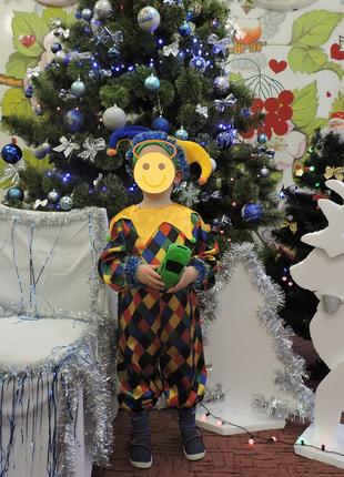Карнавальный костюм петрушки/скомороха/клоуна