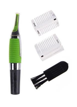 Триммер для бровей, ушей, носа, машинка для удаления волос, бритва