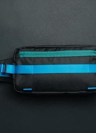 Поясная сумка staff square black & blue