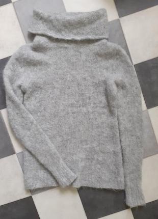 Шикарный мягкий мохеровый свитер италия