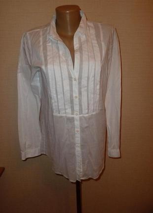 Белая рубашка, блуза, туника marc o'polo, р 38
