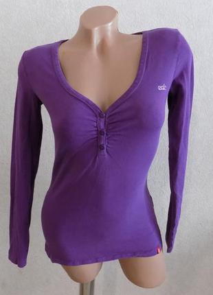 Пуловер джемпер кофта с пуговицами на груди фирменная еsprit размер 42-44