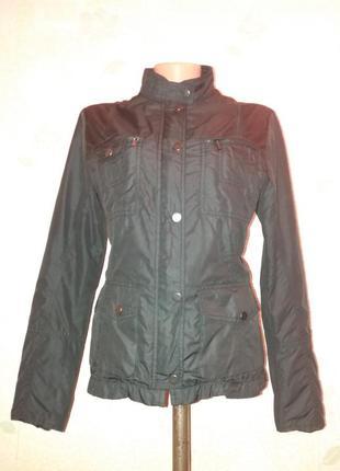 Стильная куртка ветровка от zara м-л1