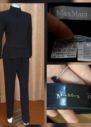 Max mara костюм шерсть размер 48 , италия