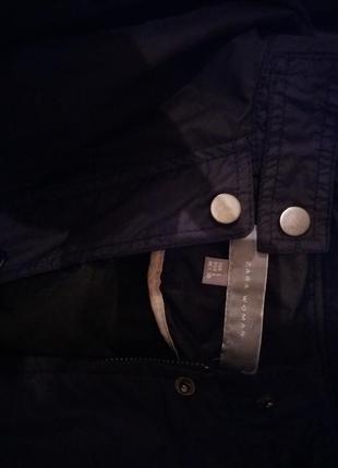 Стильная куртка ветровка от zara м-л5
