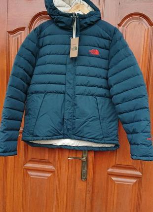 Брендова фірмова куртка натуральний пуховик the north face,оригінал,нова з бірками.