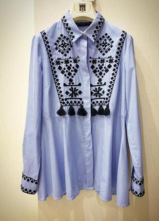Рубашка блуза zara