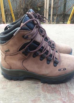 Трекинговые ботинки salomon gore tex eur 40 25 см