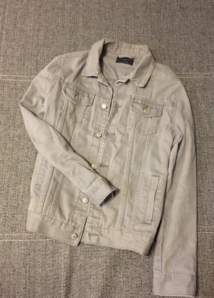 Удлиненная джинсовка