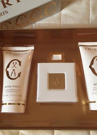 Charriol royal white (подарочный набор)