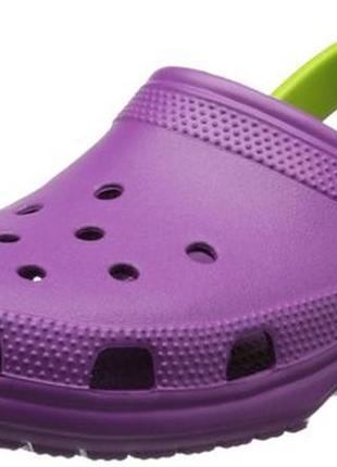 Кроксы crocs classic clog w10. оригинал.