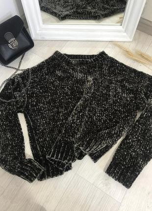Велюровый свитер 😋