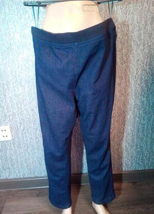 Женские джинсы на широком поясе резинке./ country rose