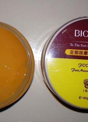 Отшелушивающий гель-пилинг для ног bioaqua foot care (180г)