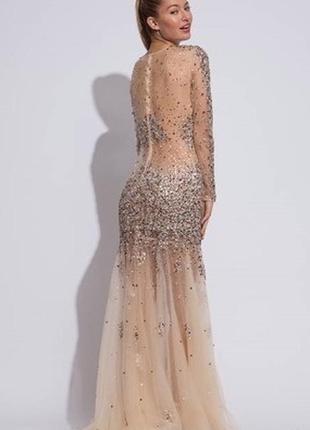 Роскошное  непревзойдённое  платье jovani .