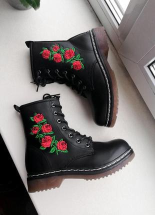 Сапоги, ботинки с вышивкой