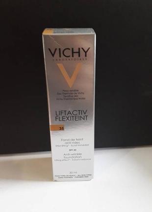 Vichy liftactiv flexilift teint тональный крем от морщин.