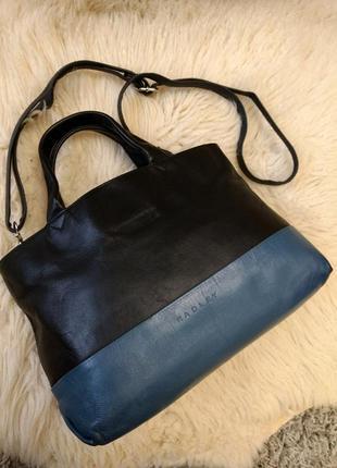 Кожаная сумка с длиной ручкой radley
