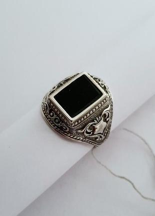 Мужская печатка,перстень,кольцо серебро 925 проба