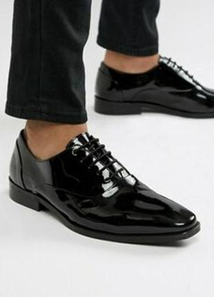 Улётные лаковые туфли люкс класса