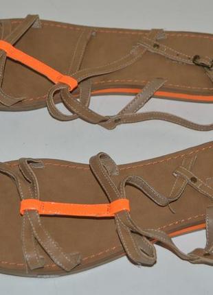 Босоножки сандали graceland размер 42 43, босоніжки сандалі