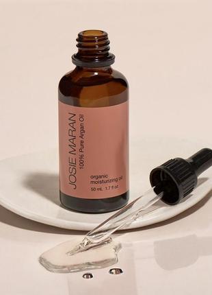 Хит! органическое увлажняющее масло josie maran 100 percent pure argan oil