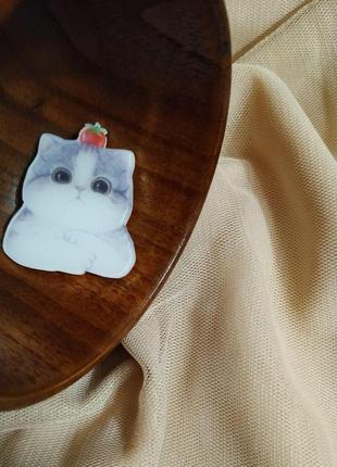 Акриловый значок, брошь, брошка ❤️😸котенок, кот 🎁