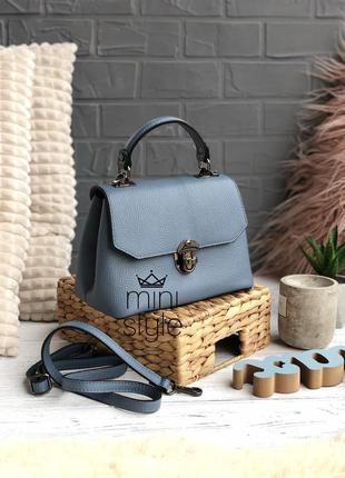 Кожа кожаная сумка на длинной ручке cross-body сумочка трендовая и стильная кроссбоди