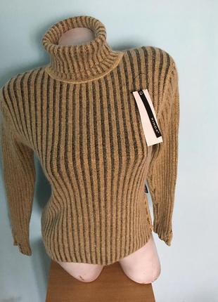 Распродажа!!! ангоровая тёплая кофта гольф свитер натуральная ангора