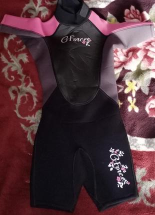 Детский гидрокостюм g-force, для девочки3 фото