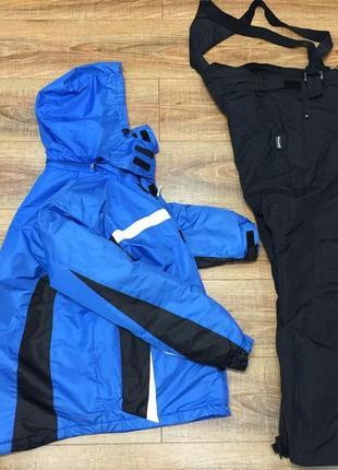 Лыжный костюм зимний комбинезон термо rodeo c&a германия р. l идеале