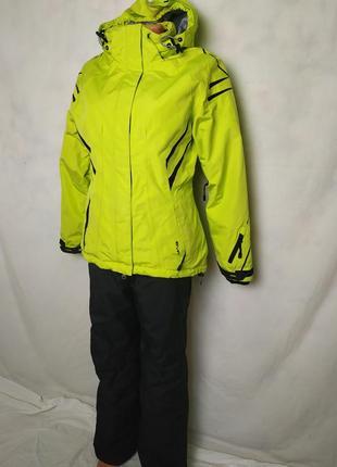Лыжный костюм штаны + куртка+ перчатки