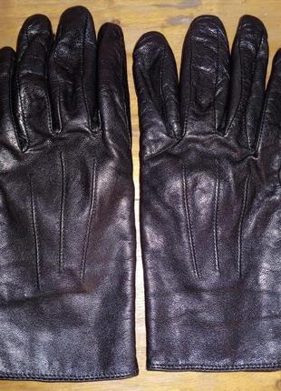 Кожаные перчатки florence+fred