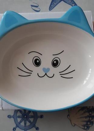 Удобная керамическая миска для вашего любимца