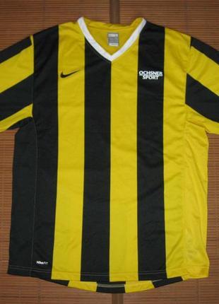 Nike fitdry (l) cпортивная футболка