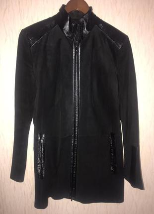 Куртка замшевая женская натуральная 46-48 р-р