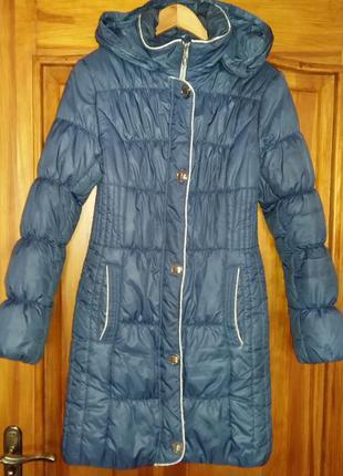 Зимнее пальто на синтепоне.1