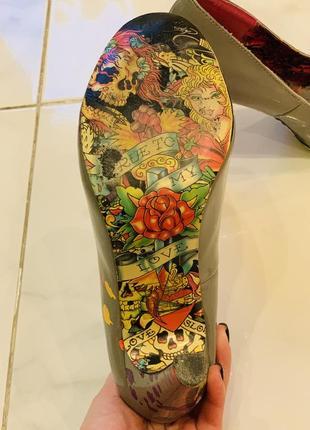 Очень необычные туфельки ed hardy оригинал3 фото
