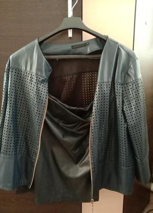 Костюм куртка юбка