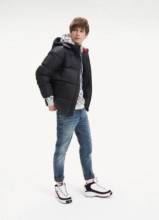 Оригинальная куртка пуховик tommy hilfiger