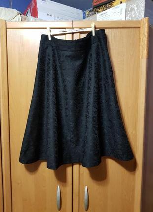 Юбка, длинная чёрная юбка, спідниця