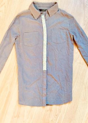 Строгая и нарядная одновременно рубашка, офис+вечеринка👌