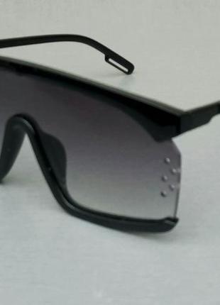Calvin klein очки маска женские солнцезащитные черные