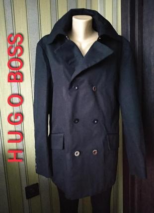 Hugo boss крутое стильное мужское пальто
